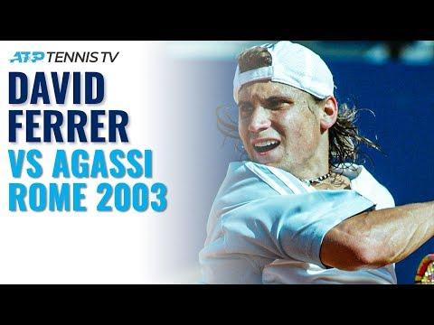 Andre Agassi vs David Ferrer: The Day Ferrer Shocked the Tennis World!