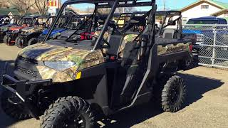 6. 2018 POLARIS RANGER 1000 PURSUIT CAMO
