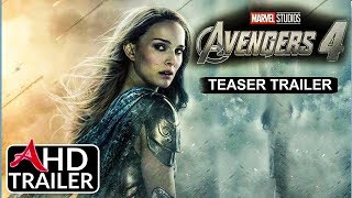Avengers 4: ENDGAME - TEASER TRAILER #1 - Josh Brolin, Brie Larson Film (CONCEPT)