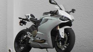 4. 2013 Ducati 1199 ABS Panigale Demo Arctic White Ride & Spec Video