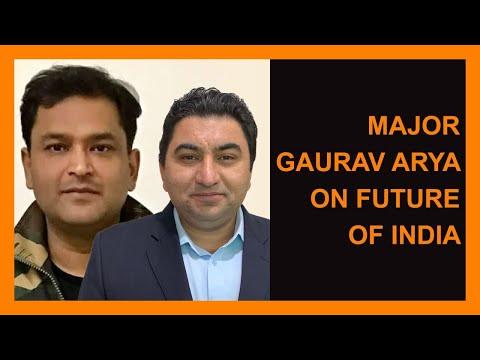 Major Gaurav Arya Speaks on Future of India with Qamar Cheema