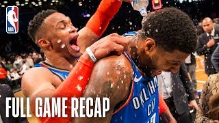 THUNDER vs NETS | Paul George Leads Epic Comeback In Brooklyn | December 5, 2018 by NBA