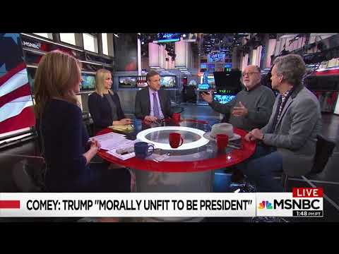 """John Podhoretz: Comey Admits To A Series Of """"Extraordinary Blunders"""" In ABC Interview"""