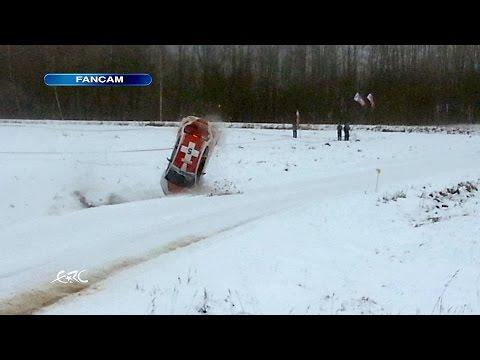 Wypadek Hirschi - Rajd Liepaja