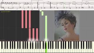 Emmanuelle (лёгкий фрагмент) (Ноты и Видеоурок для фортепиано) (piano cover)
