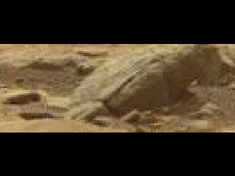 Latest - Latest NASA picture shows what appears to be a very large amphibian or a dinosaur living on Mars at Gale Crater. Since uploading this video. NASA have, in fa...