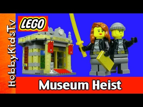 Cops - HobbyKidsTV presents LEGO City Musem Heist Cops and Robbers Story. Trixie and Jackson are at it again and this time there partner Bastion want to rob the Lego City Museum. See how Trixie...