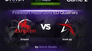 STARK vs Empire, game 2