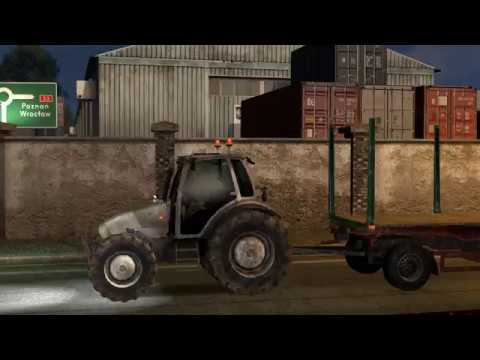 Tractor with trailers in traffic v1.0