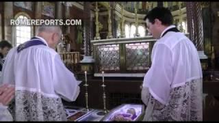 Velatorio y misa de sufragio