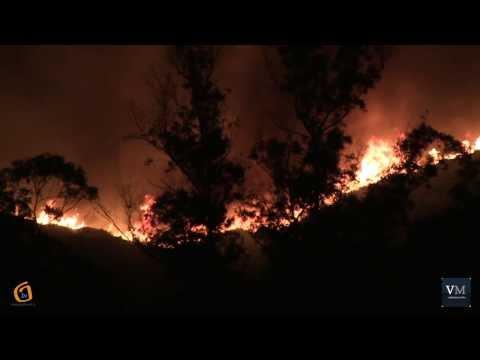 Incendio en Couso.