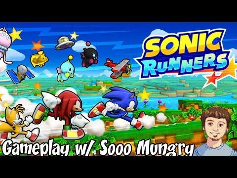 Sonic Runners Gameplay - Happy 24th Birthday Sonic! (iOS, Android & Google Play) (видео)
