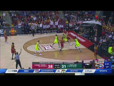 Cyclones beat Baylor in BIG 12 Tournament