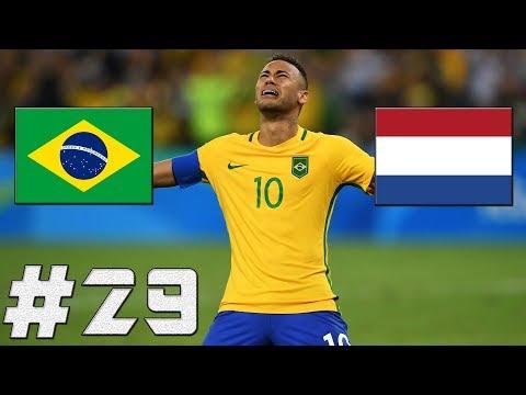 FIFA 17 | Brazílie-Nizozemsko | MS 2018!!! | PART 29 | XBOX ONE | CZ/SK