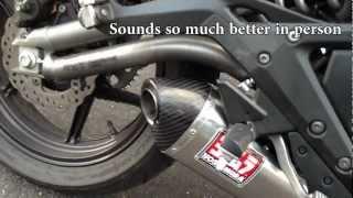11. 2012 Kawasaki Ninja 650 Yoshimura Exhaust