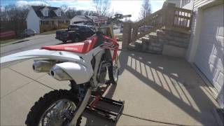 7. 2017 Honda CRF250r (A Dream come true!)