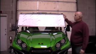 7. Installation Tutorial for a 2016 Teryx | UTV Windshields & Accessories