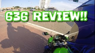 1. Yummi On A Kawasaki 636 + Review!