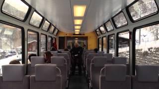 Visp Switzerland  City new picture : On the Train from Visp to Zermatt, Switzerland