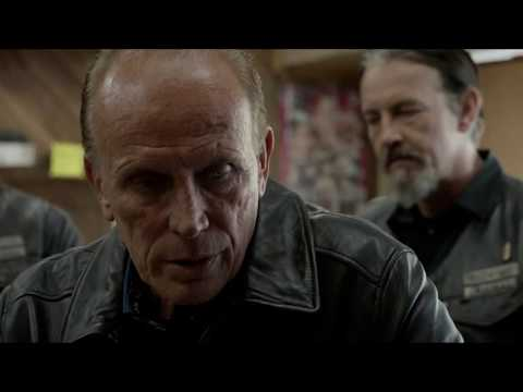 Tig rapes a cop with a flute.   Sons of Anarchy Season 7