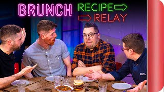 BRUNCH Recipe Relay Challenge!! | Pass it On S2 E9 by SORTEDfood