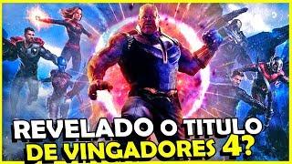 Video Teaser de VINGADORES 4 Divulgado em SEGREDO, mas o que TINHA NELE? MP3, 3GP, MP4, WEBM, AVI, FLV Juli 2018