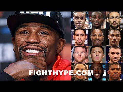 "MAYWEATHER REVEALS HIS ""MUST-SEE"" LIST OF GOOD FIGHTERS IN BOXING TODAY; WHO MADE THE CUT?"