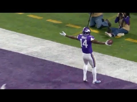 Stefon Diggs Saves Vikings Playoff Run With Game Winning TD! Viking vs Saints