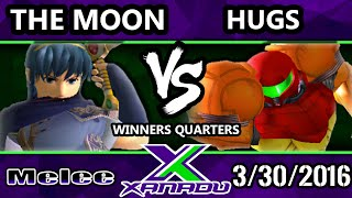 S@X 143 – Hugs (Samus) Vs. CT | The Moon (Marth) SSBM Winners Quarters – Smash Melee