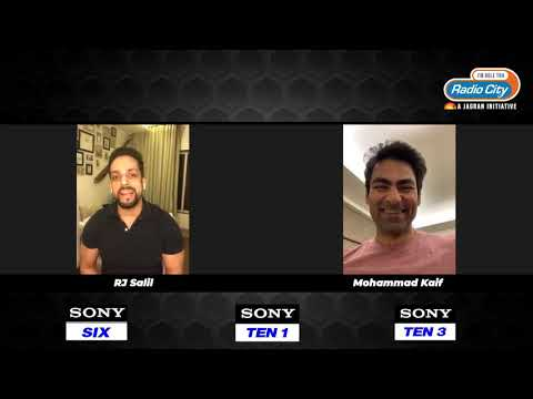 RJ Salil's Exclusive Interview With Mohammad Kaif | India Tour Of Australia