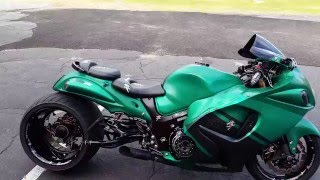 6. 2012 Custom Hayabusa with 360 Rear Tire