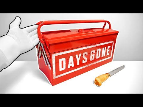 "Unboxing DAYS GONE ""Toolbox Edition"" (Ultra Rare Limited Edition) PS4 Collector's Press Kit"
