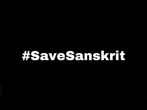 Save Sanskrit By SnappyYouth