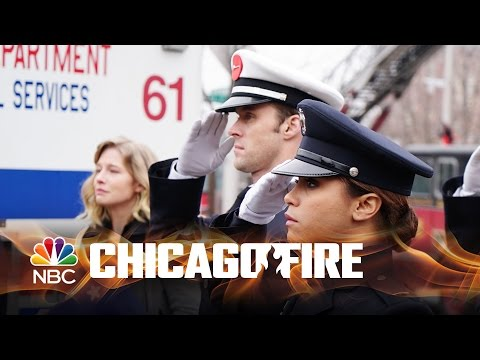 chicago fire - shay's dedication ceremony!