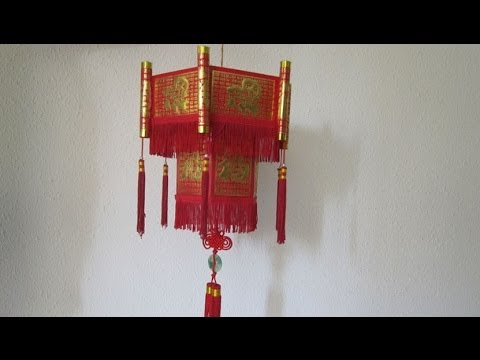Object Tutorial - 034 -- Chinese Lantern
