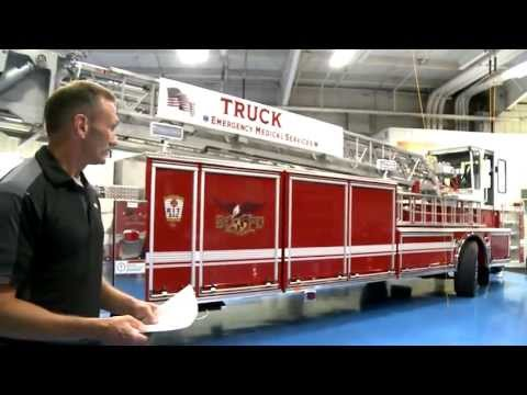 Baltimore - This Arrow XT Tiller deserves a video. Gary Metzbower, Deputy Chief from the City of Baltimore Fire Department shows you all the features of their new truck,...