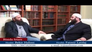 Bisedë rreth aktivitetve të Hoxhës Fatmir Latifi - Hoxhë Bekir Halimi