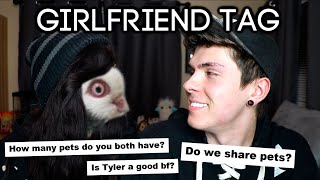 How many pets do we have total? | Girlfriend Tag/Q&A by Tyler Rugge