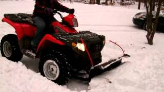 2. 2007 Polaris Sportsman 450 4wd Snow Plow
