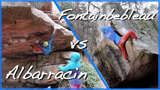 Albarracin vs Fontainebleau Bouldering by The Climbing Nomads