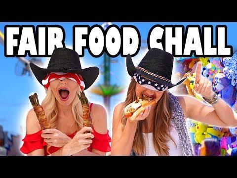 Fair Food Challenge Blind Taste Test Challenge. Totally TV
