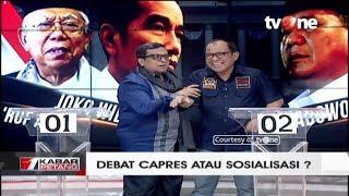 Video Debat Capres Atau Sosialisasi? (Akbar Faisal dan Haikal Hassan) MP3, 3GP, MP4, WEBM, AVI, FLV Maret 2019
