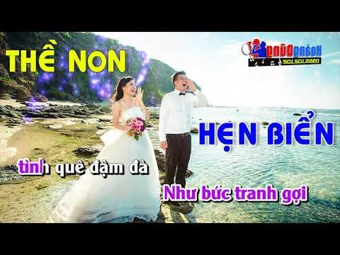 Karaoke Liên khúc Thề Non Hẹn Biển Tuyệt Phẩm nhạc sống đám cưới
