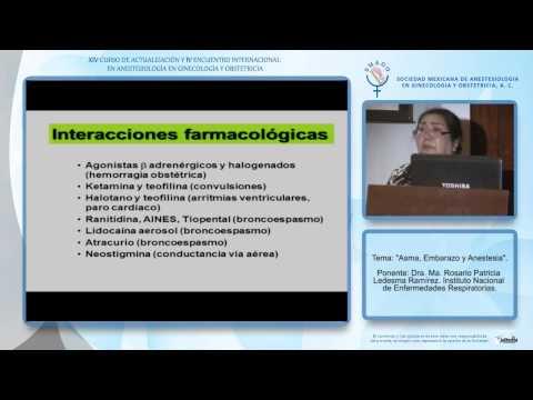 Asma, Embarazo y Anestesia - Dra. Ma. Rosario Patricia Ledesma Ramírez