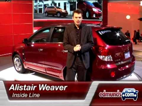 2009 Saturn Vue Green Line Two-Mode Hybrid | 2008 Detroit Auto Show | Edmunds.com