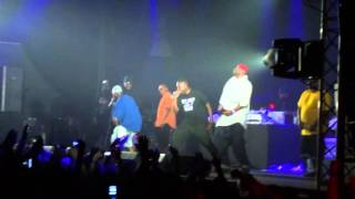 Wu Tang Clan Live in Russia pt1