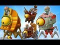 Plants vs Zombies 2: Far Future - NEW Dr ZOMBOSS FIGHT All Four Worlds Zomboss Part 17
