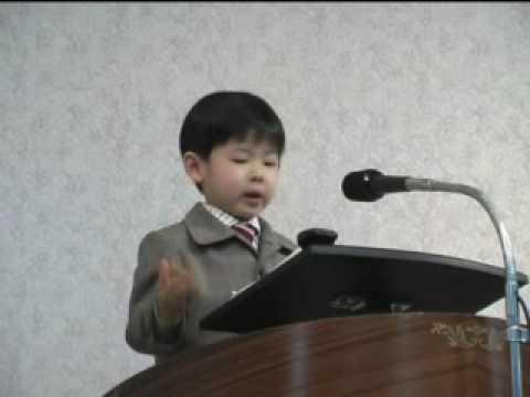 testigos de jehova-discursante de 4  años