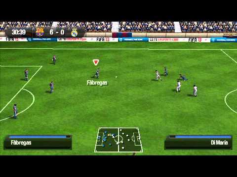 PSP EL Clasico Barcelona vs Real Madrid (Fifa 13)