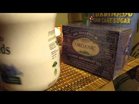 iHerb Unboxing  Распаковка посылки № 1 за 31-12-13 Шампунь, тростниковый сахар, стевия,  чай